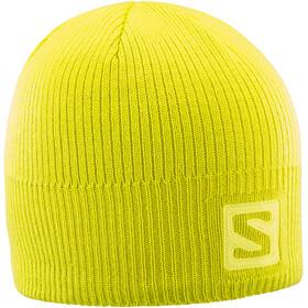 Salomon Logo Beanie sulphur spring